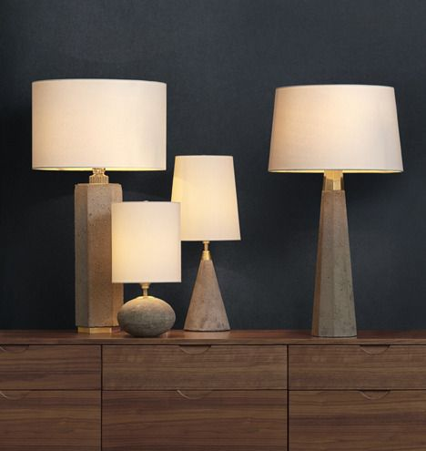 Rejuvenation Easy Update: Concrete Accent Lamps