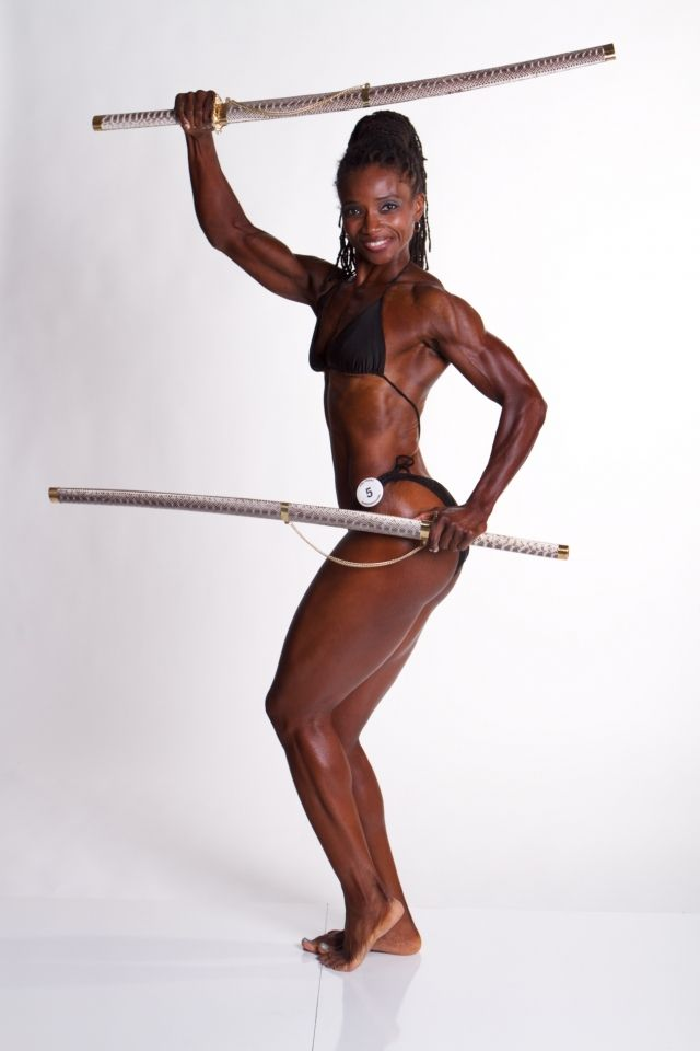 Black bodybuilding women