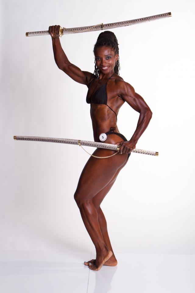 Black bodybuilding women