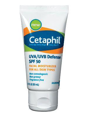 Cetaphil UVA/UVB Defense SPF 50 - InStyle Best Beauty Buys 2013 Winner