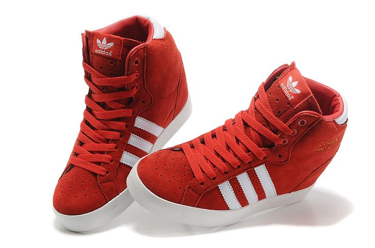 Adidas Amberlight Up Suede Women Twins China Red Off White   . #cheap #red #shoes