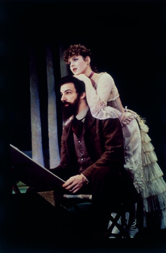 "Mandy Patinkin and Bernadette Peters in ""Sunday In The Park With George"""