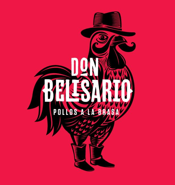 concept for Don Belisario, a rotisserie chicken restaurant in Lima, Peru.  Conceived by Lima-based agency, Infinito