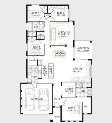 Dise os ejemplos archivos constructora paramount for Modelos de planos de casas