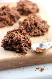 No Bake Chocolate Haystack Cookies
