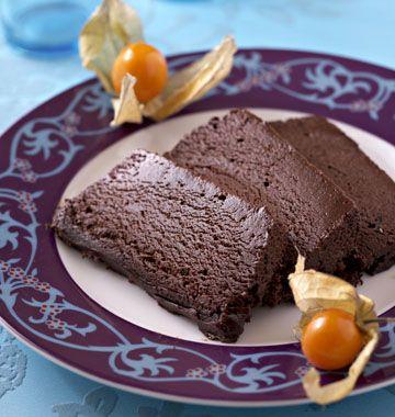 Marquise au chocolat - les meilleures recettes de cuisine d'Ôdélices                                                                                                                                                                                 Plus