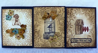 The Artistic Stamper Creative Team Blog: Birds of a Feather by Lori!
