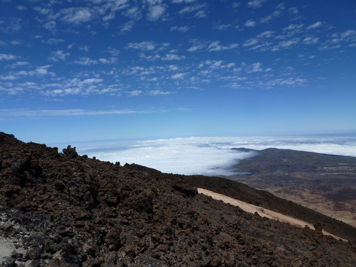 Climbing High on El Teide - Tenerife