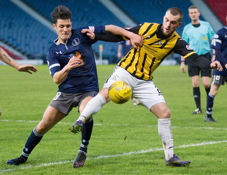 Queen's Park's Kalvin Orsi in action during the Ladbrokes League One game between Queen's Park and East Fife.