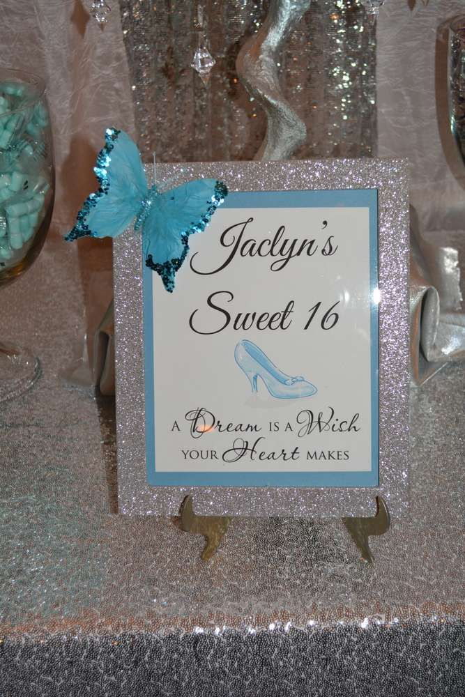 Jaclyn's Cinderella Sweet 16   CatchMyParty.com