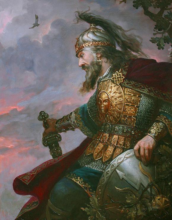 Перун Громовержец, автор Шишкин Андрей. Артклуб Gallerix