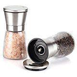 #DailyDeal Mowiss Salt and Pepper Grinder Set   2pcs  Glass&Stainless Elegant Salt Mill Pepper Mill     Mowiss Salt and Pepper Grinder Set   2pcs  Glass&Stainless Elegant Salt Mill Pepper https://buttermintboutique.com/dailydeal-mowiss-salt-and-pepper-grinder-set-2pcs-glassstainless-elegant-salt-mill-pepper-mill/
