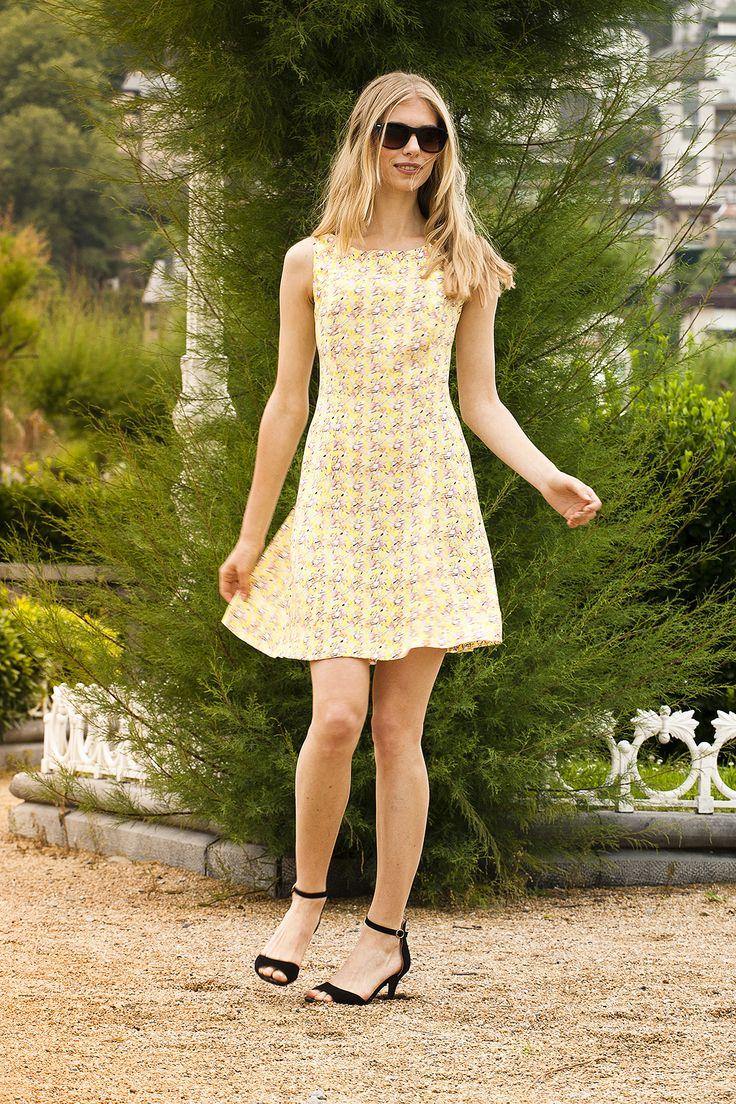 yellow dress for a yellow summer! #dress #summer #naif #señoretta