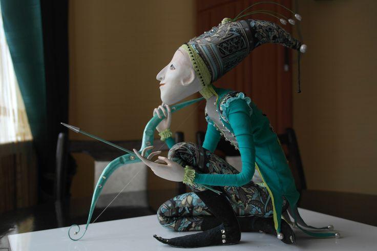 Кукла и скульптура из папье маше