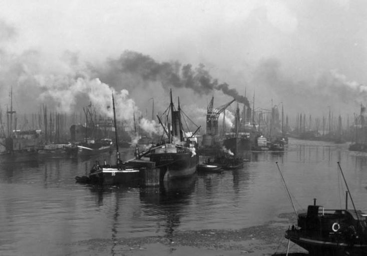 Maashaven Rotterdam (jaartal: 1900 tot 1910) - Foto's SERC