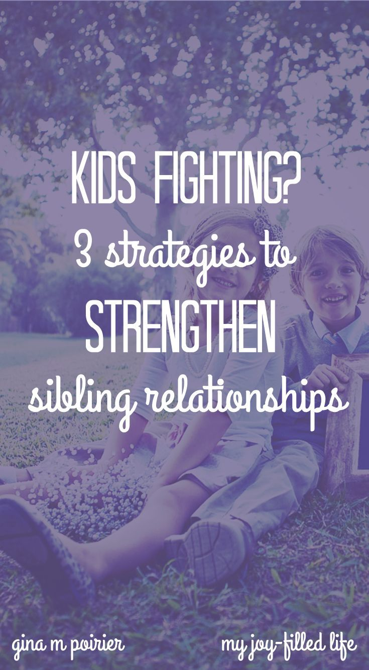 Kids fighting is a dilemma every family has to deal with. These strategies help create a family culture where sibling rivalry is less likely to thrive.