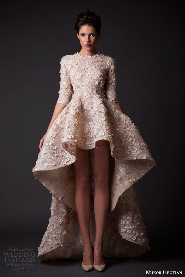 Krikor Jabotian Fall/Winter 2014-2015 — Amal Collection   Wedding Inspirasi