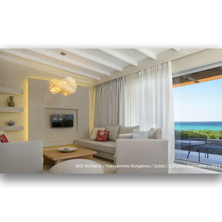 AM3 Architects / Makryammos Bungalows / Suites / Complete Restoration / 2014