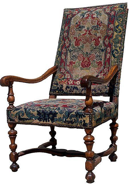 Las sillas estilo luis xiii cumplen por primera vez las - Silla luis xiv ...