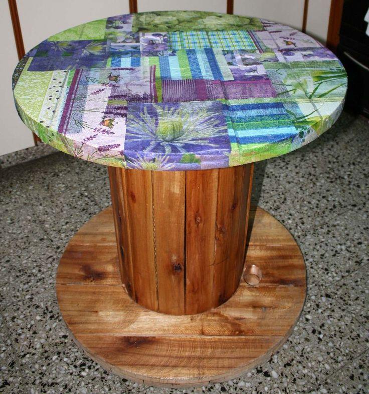 Decoupage en muebles buscar con google decoupage for Muebles de paletas recicladas