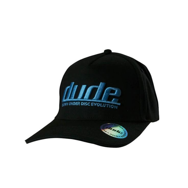 Ladies Disc Golf Apparel - Pro Cap Wear your Dudeness with pride and proclaim it to the world with a Dude Pro Cap. With a permacurve brim, and a very stylish 3D Dude logo embroidery this will become your cap of choice for sure. Choose your color combination. For more details, visit https://www.dudeclothing.com/collections/ladies/products/dude-mens-pro-cap?variant=1172430096