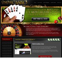 Welcome to the most complete, concise, and definitive resource for Online Casino sites on the Internet today. At this informational website, we review the most reputable and the very Best Online Casino Sites,