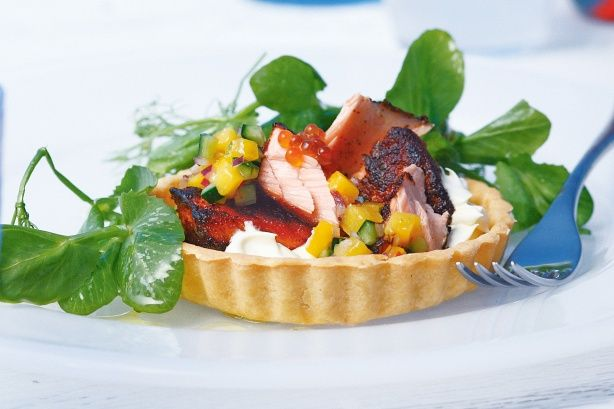 Make those special occasions even more memorable with this gourmet salmon starter.
