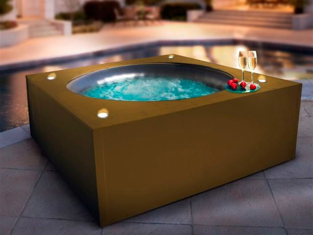 17 migliori idee su jacuzzi gonflable su pinterest - Habillage spa gonflable ...