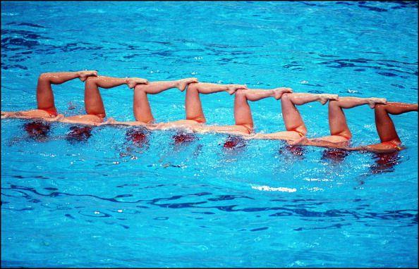Sydney Olympics synchronized swimming in Sydney Australia on September 30 2000 Japan team