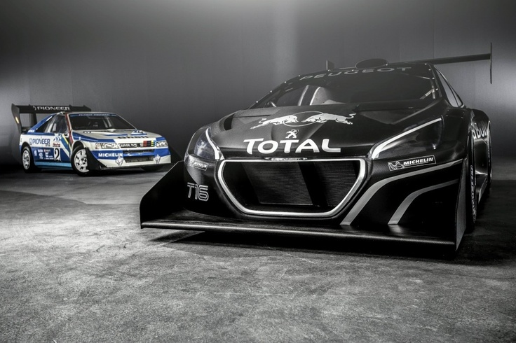 Peugeot 208 T16 and 405 T16