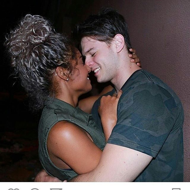 Gorgeous interracial couple #love #wmbw #bwwm #swirl
