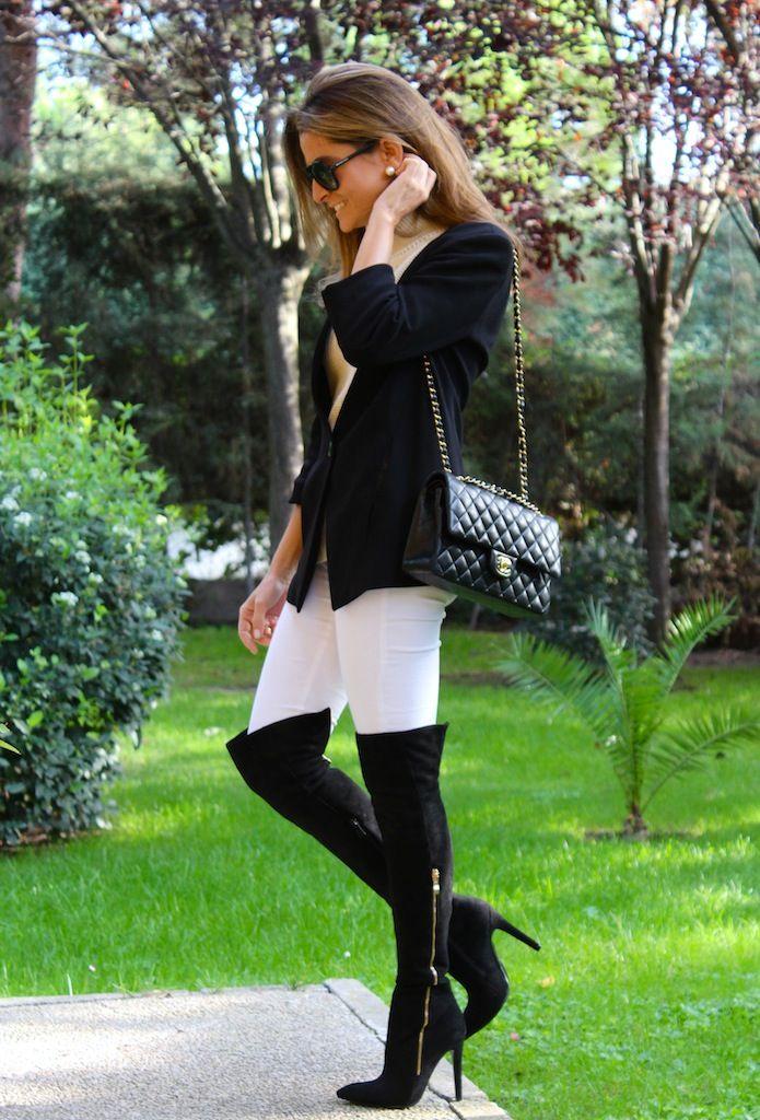 Oh My Looks by Silvia My new Pilar Burgos boots #kissmylook