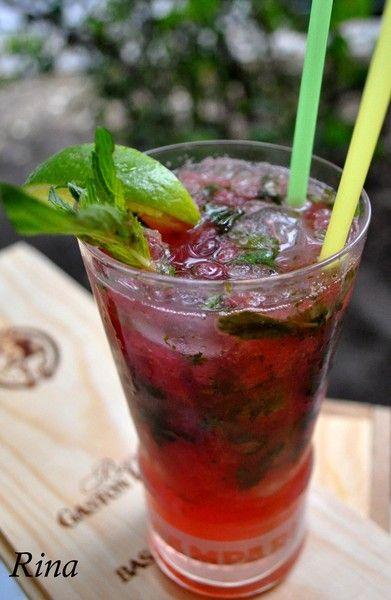 Арбузный мохито безалкогольный