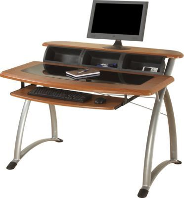 office desks at staples. has the ergocraft tesso computer desk cherry you need for home office or business desks at staples c