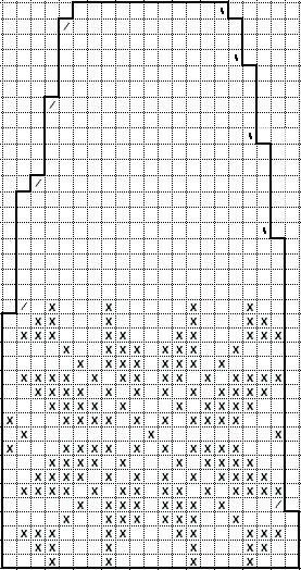 ( Icelander Sweater - English translation) Sizes: S (M) L (XL) Circumference : 86 (92) 98 (104) cm Full length, approximately: 57 (58...