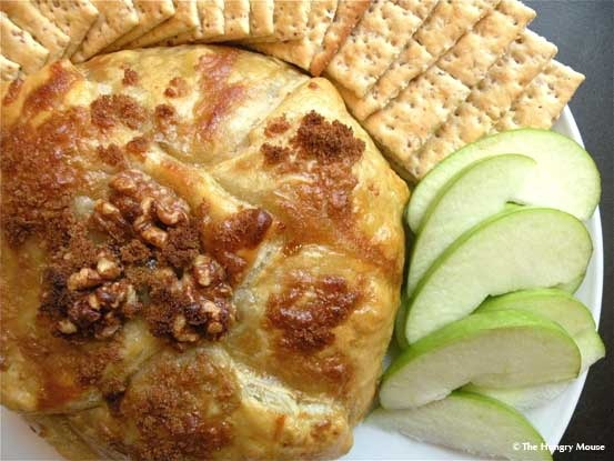 Baked Brie with Walnuts & Preserves - or customize to suit your tastes