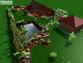 Realizácia Záhrad, Údržba, Kúpacie, Záhradné Jazierka, Projektovanie, Vodopády, Okrasné Záhrady