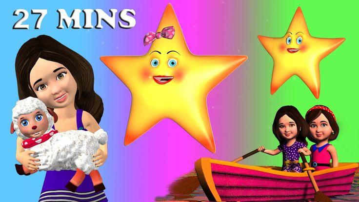 Twinkle Twinkle Little Star Songs for Children   Best Nursery Rhymes Son...