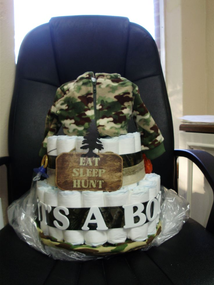 32 Best Images About Camo Diaper Cakes On Pinterest