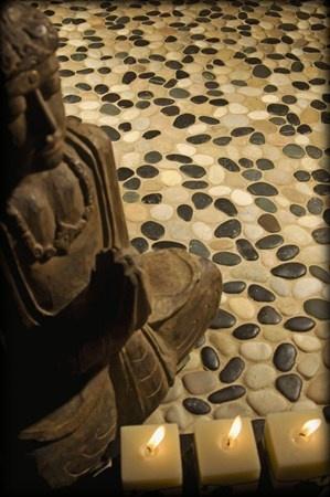 pebble floors