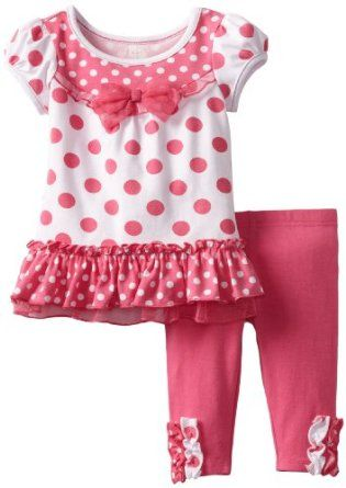 Young Hearts Baby-girls Infant 2 Piece Knit Pullover And Pant, Pink, 24 Months Young Hearts. $19.00