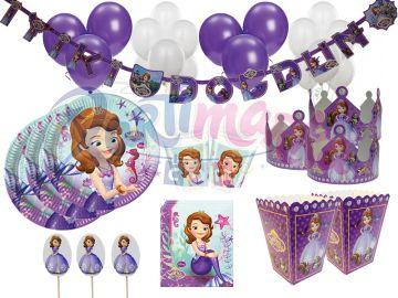 Prenses Sofia Doğum Günü Parti Seti