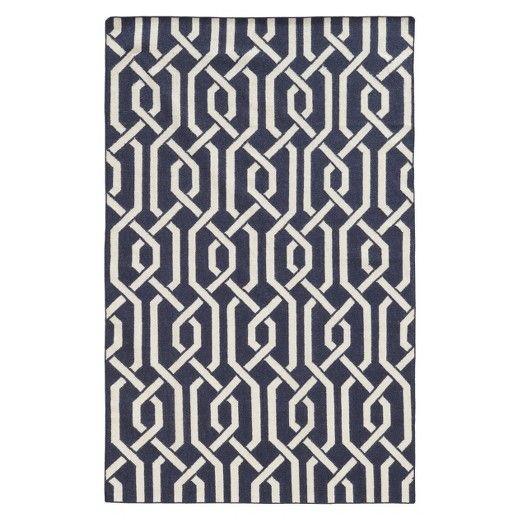 Pantone Matrix Lattice 100% Wool Flatweave Rug : Target
