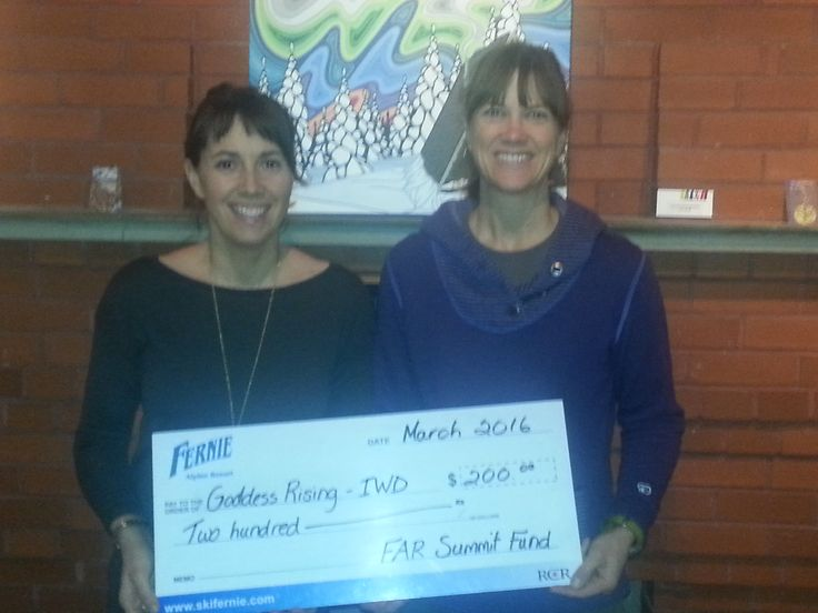 """Fernie Alpine Resort's Summit Fund is a proud supporter of the Goddess Rising Event, in celebration of International Women's Day. The event kicked off on Wednesdaynight with a sold out screening of the movie """"Suffragettes"""", and the main celebration will be tomorrow - Saturday, March 12th at the Community Centre.  Be sure to check out the great schedule of activities and workshops - http://goddessrisingfernie.blogspot.ca/"""