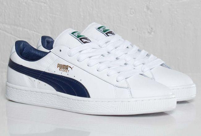 Puma Basket Navy White