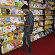 Thamizharasan at Pustak Mahal at 37th Chennai Book Fair