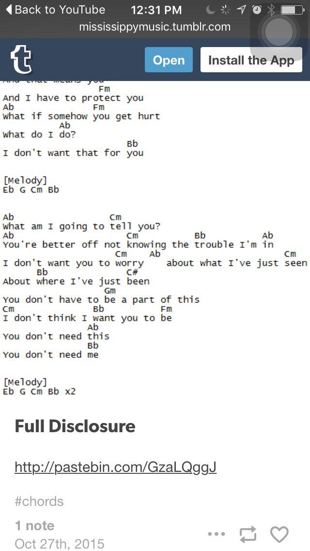 Full Disclosure- Steven Universe ukulele pt.2