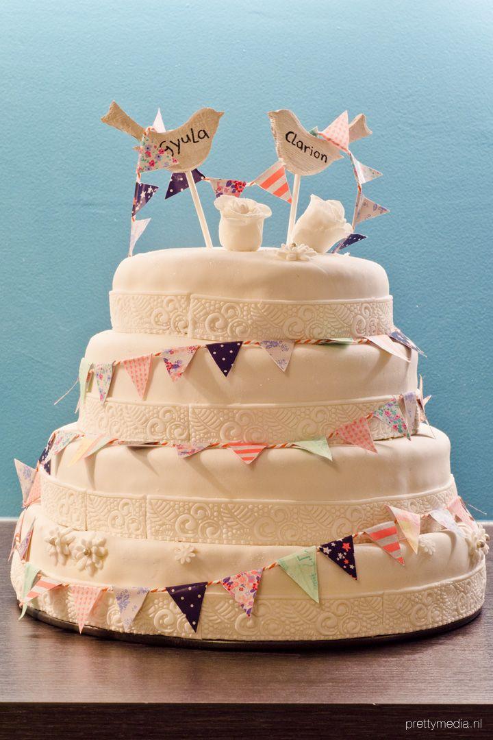 Weddingcake lovebirds4