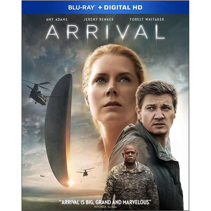 ARRIVAL (Blu-ray) Release date: February 14, 2017. When mysterious spacecrafts touch down across the globe, an elite team – led by expert codebreaker Louise Banks (Amy Adams) – is brought together to investigate. As mankind teeters on the verge of global war, Banks and the team race against time for answers – and to find them, she will take a Continue Reading