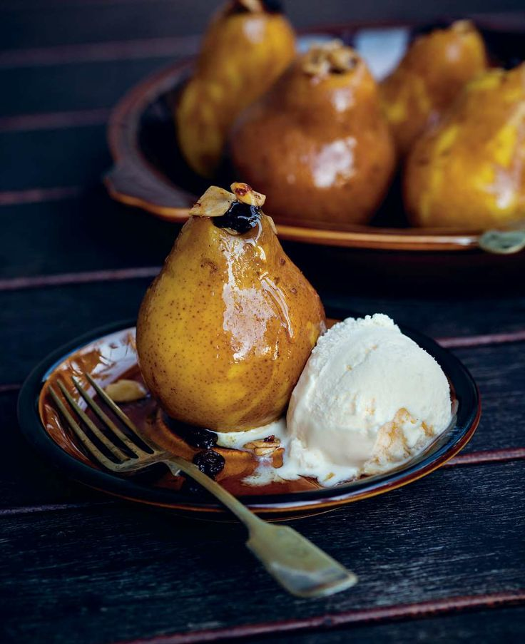 Baked pears and apples by Ben O'Donoghue from Ben's BBQ Bible | Cooked